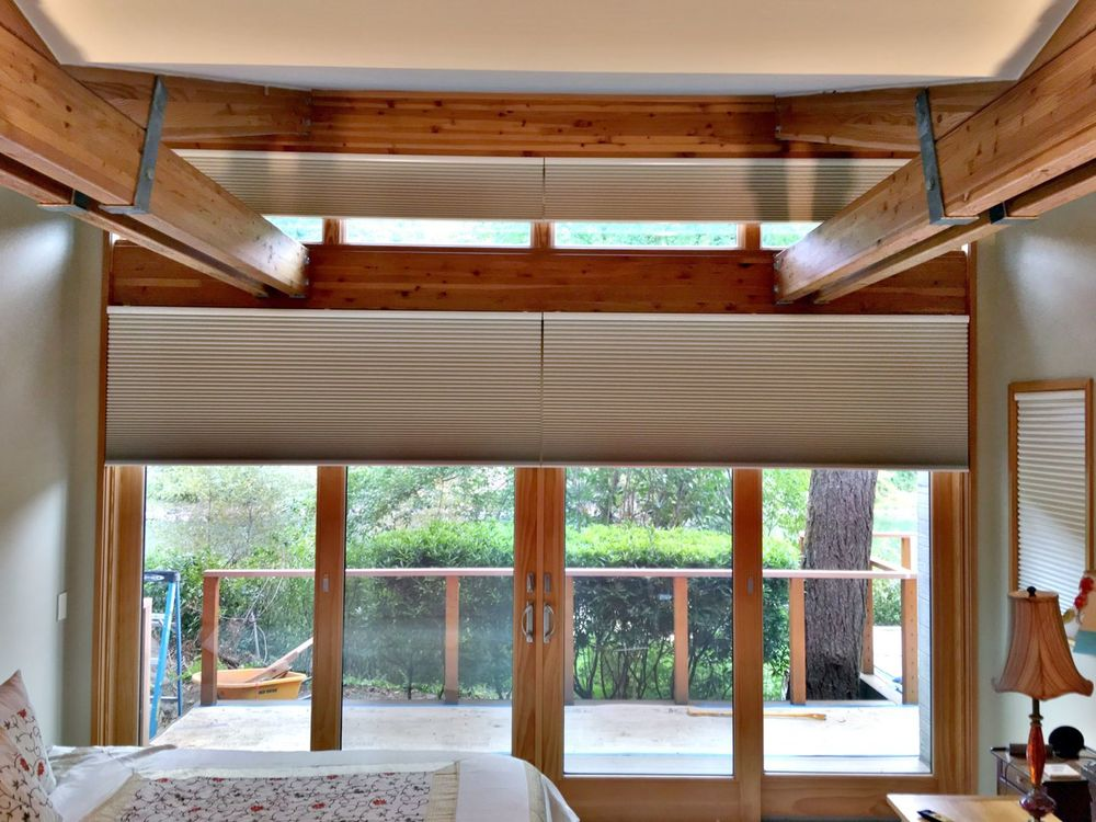 Cellular Shades with Motorization