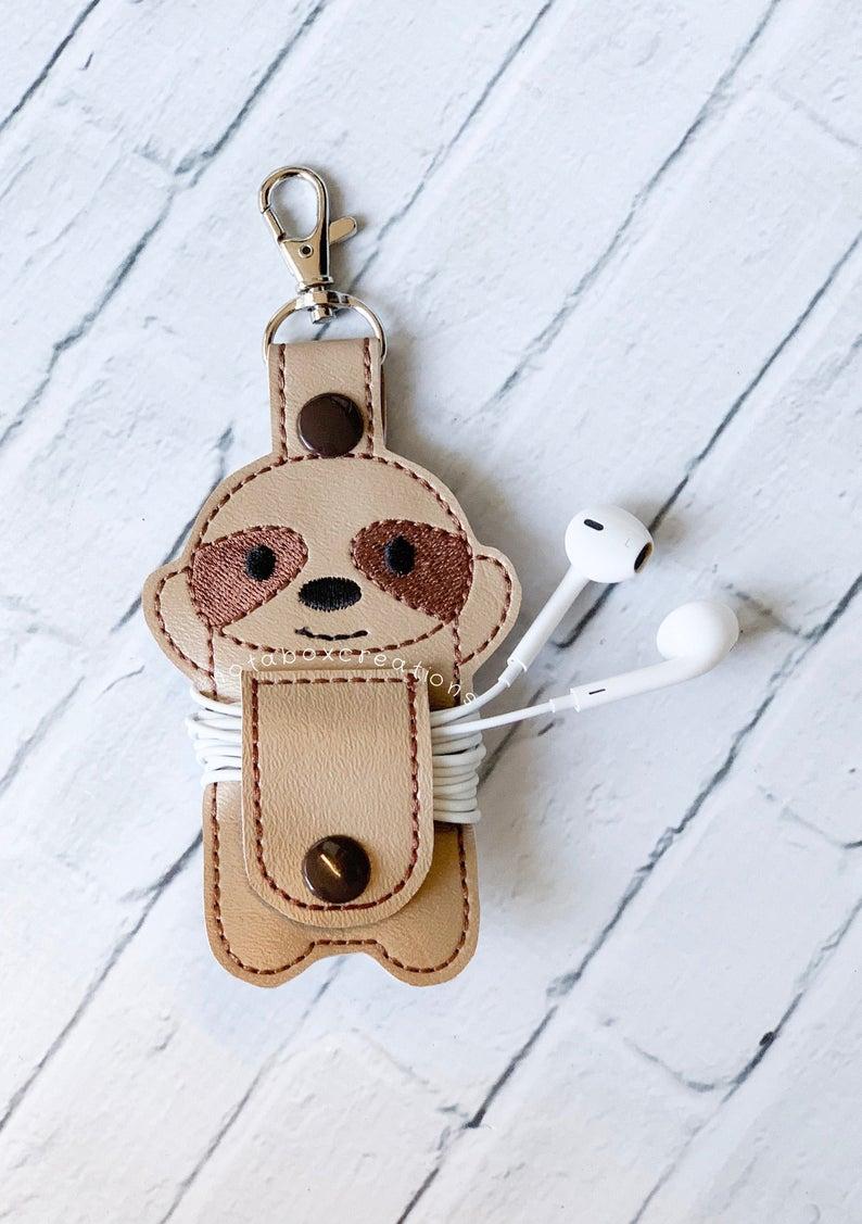 Cord organizer keychain
