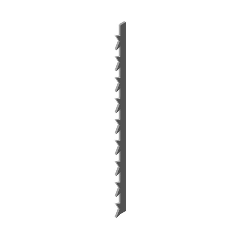 Crown Tooth Fret Saw Blade