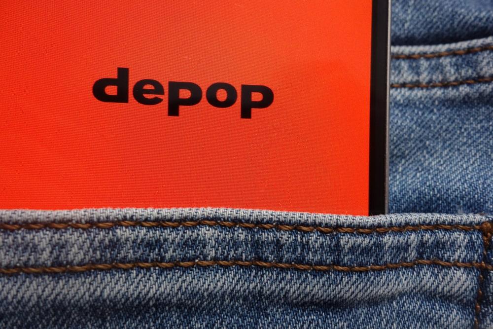 Depop mobile app