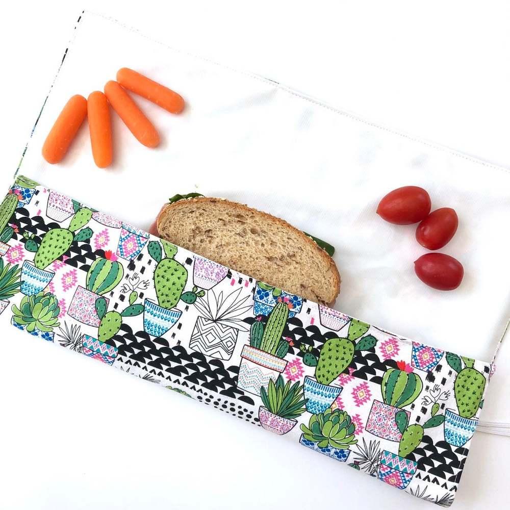 Eco-friendly sandwich wrapper