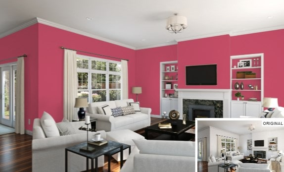 Eros Pink by Sherwin-Williams