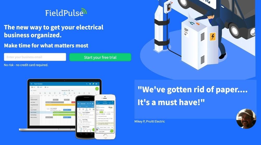 FieldPulse Free Trial