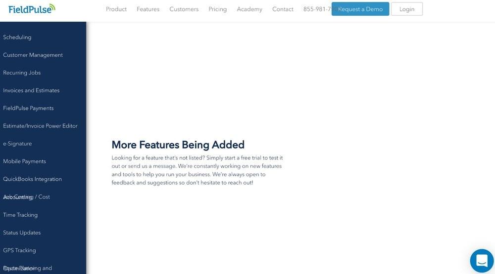 FieldPulse New Features
