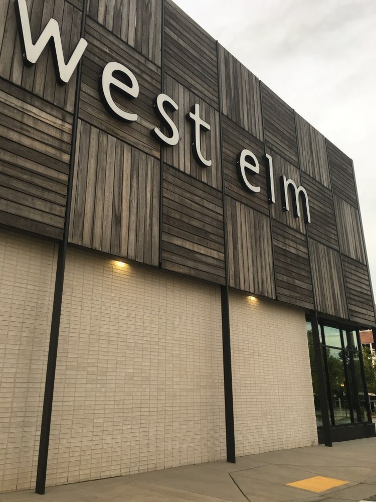 West Elm store in Greensboro.
