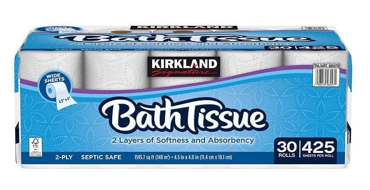 Kirkland Signature (Costco) toilet paper