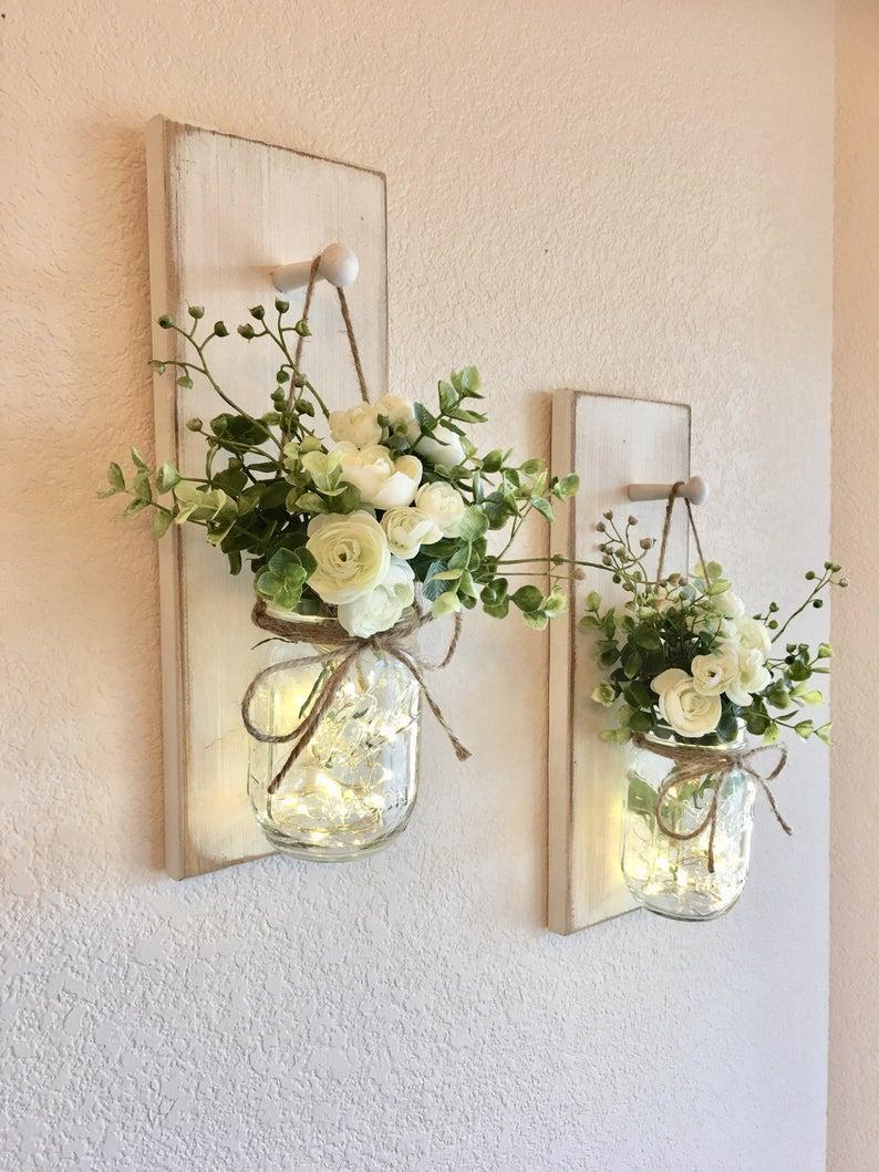 Mason jar décor