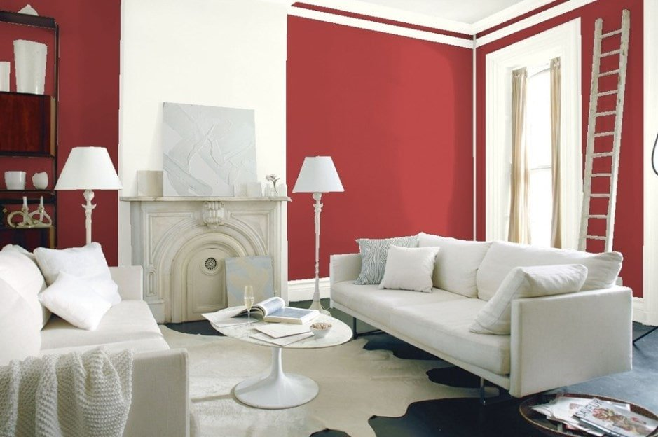 Moroccan Red by Benjamin Moore