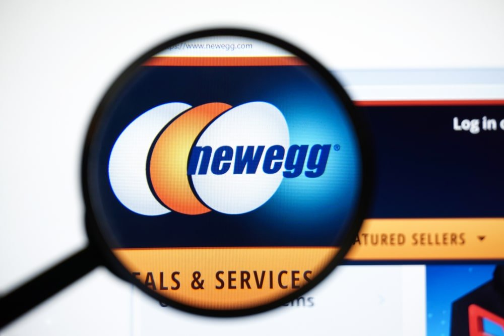 Newegg homepage