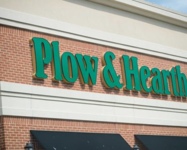 Plow & Hearth storefront in Philadelphia, Pennsylvania.