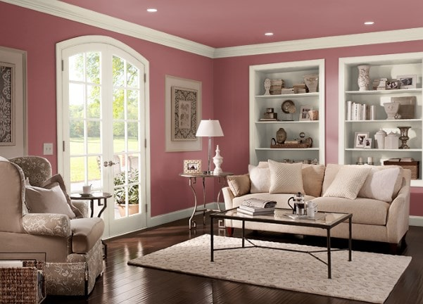 Pompeian Red by Behr