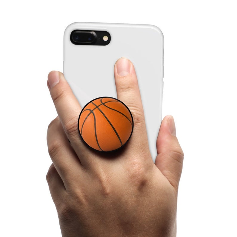 Pop-up phone grip