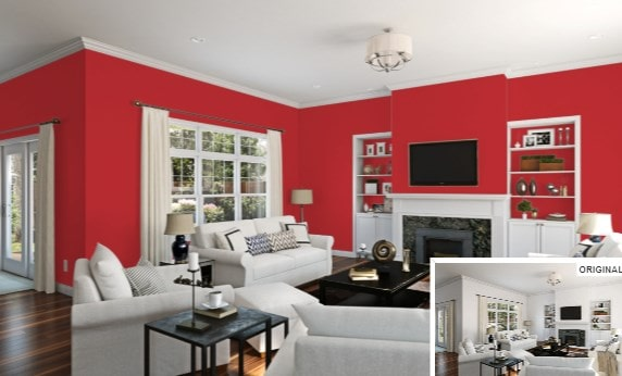 Real Red by Sherwin-Williams