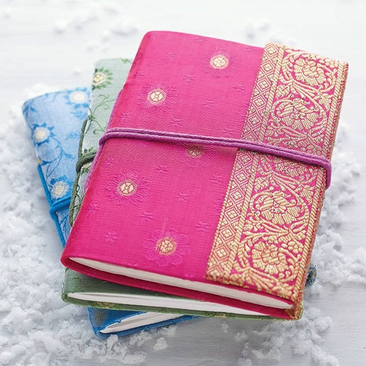 Recycled paper pocket notebooks