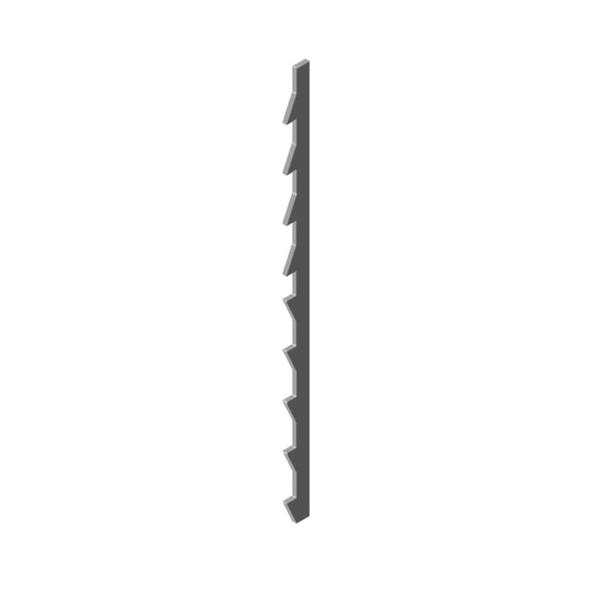 Reverse Skip Tooth Fret Saw Blade