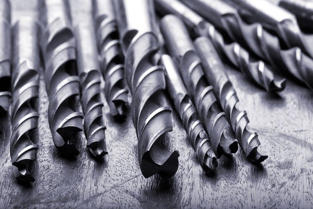 Steel drill bits