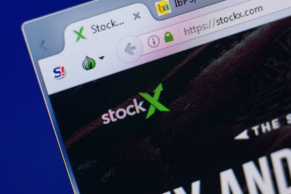 StockX homepage