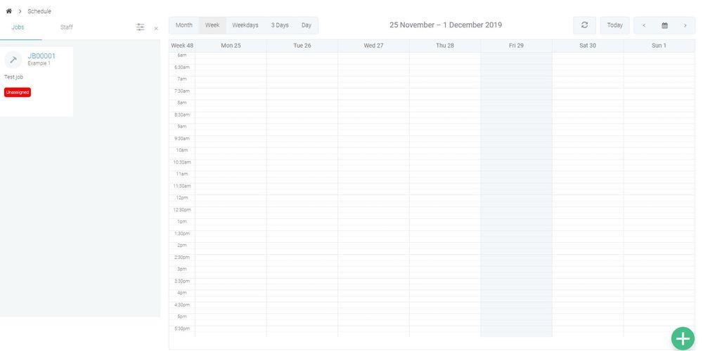 Tradify Scheduler
