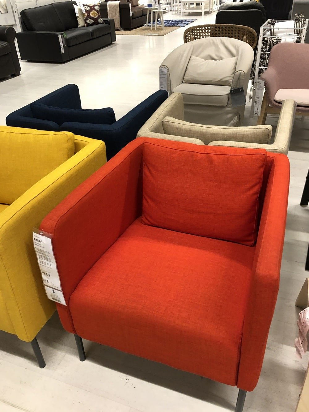 Our Mega IKEA Armchair Reviews Guide (After a Fun IKEA Store Visit)