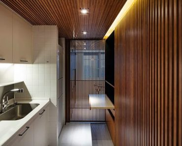 Small House in Shanghai by Mitsuhiro Shoji