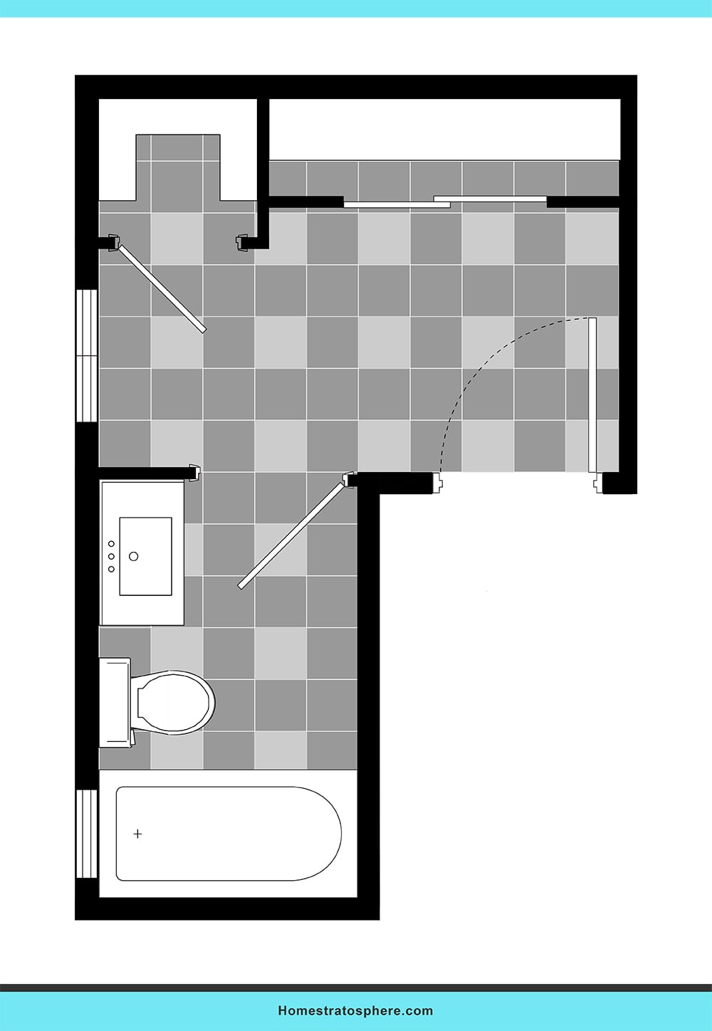 35 Bathroom Layout Ideas Floor Plans To Get The Most Out Of The