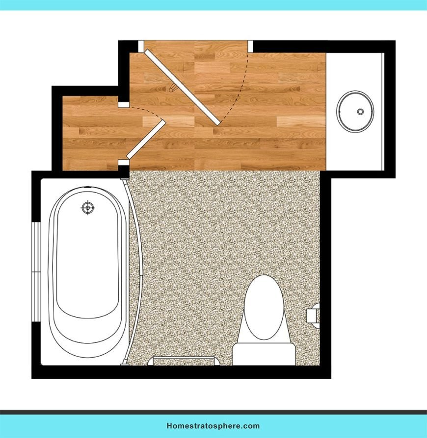 Perfect for kids bathroom layout ideas.