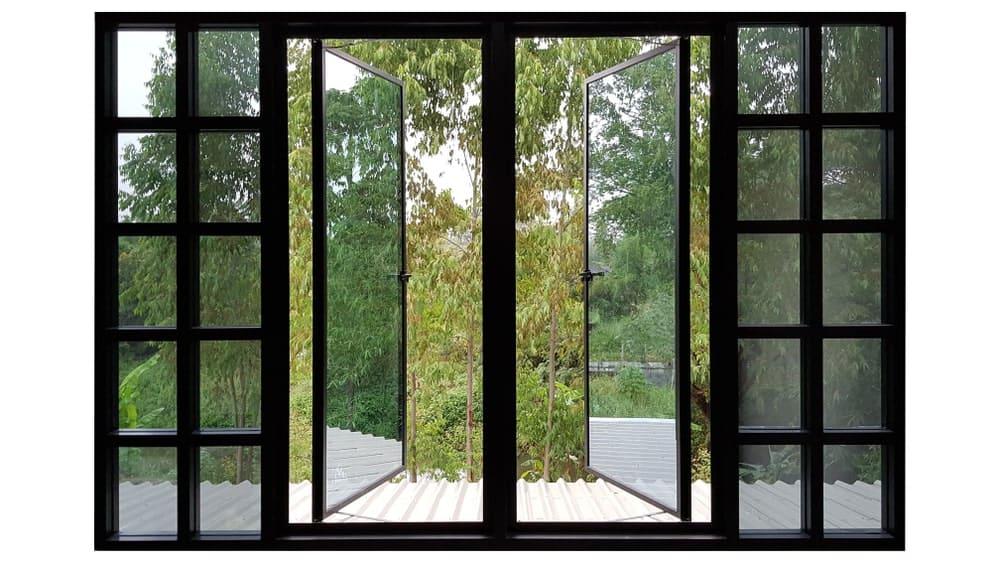 Aluminum windows