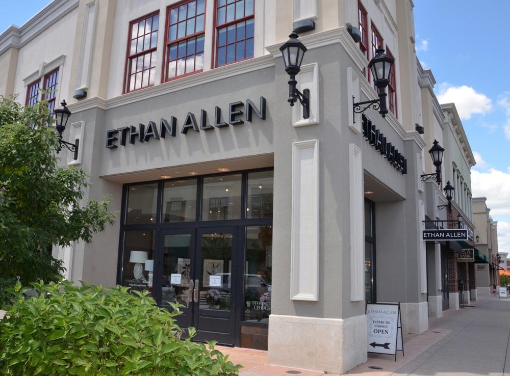 Ethan Allen store in Perrysburg, OH.