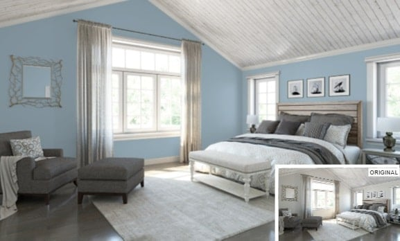 Faded Flaxflower by Sherwin-Williams