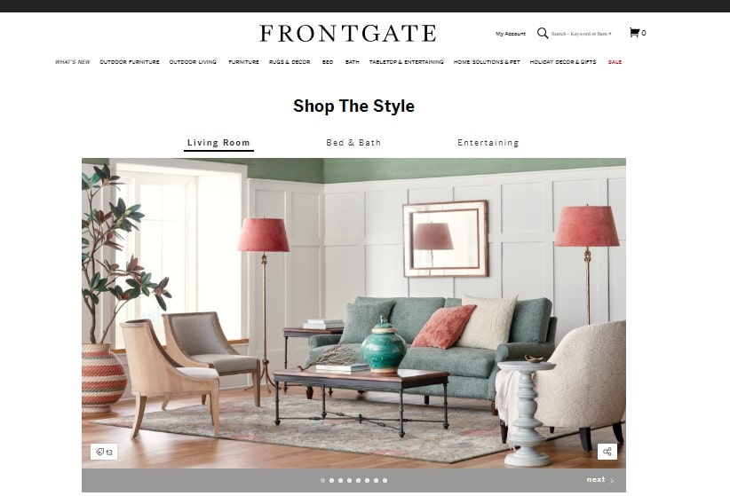 Frontgate Furniture offers a variety of ideas and their catalogs include details and other description of the products being mentioned there.
