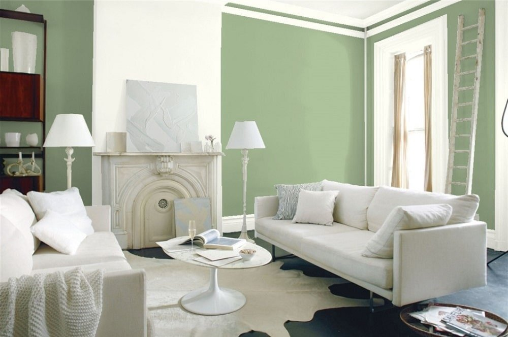 Green Bean by Benjamin Moore