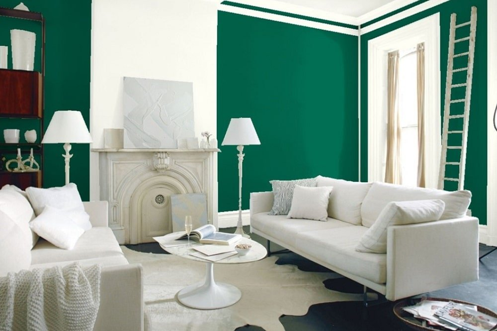 Green by Benjamin Moore