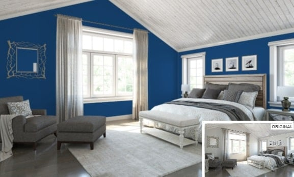 Honorable Blue by Sherwin-Williams
