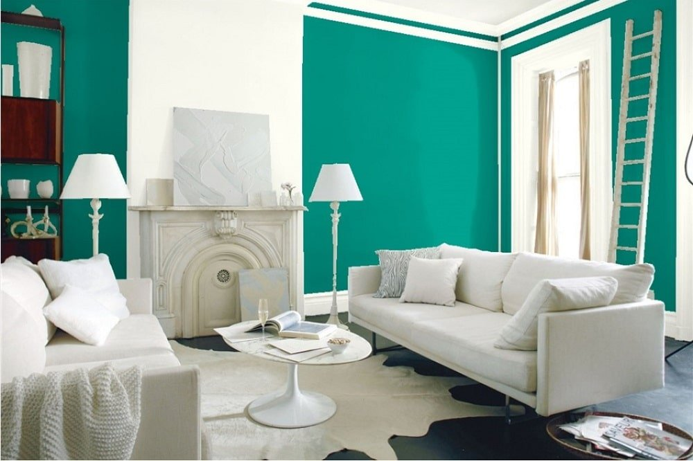 Kelp Forest Green by Benjamin Moore