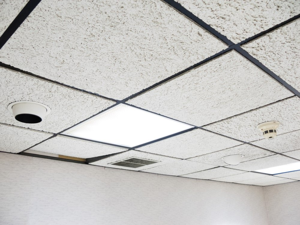 Office drop ceiling