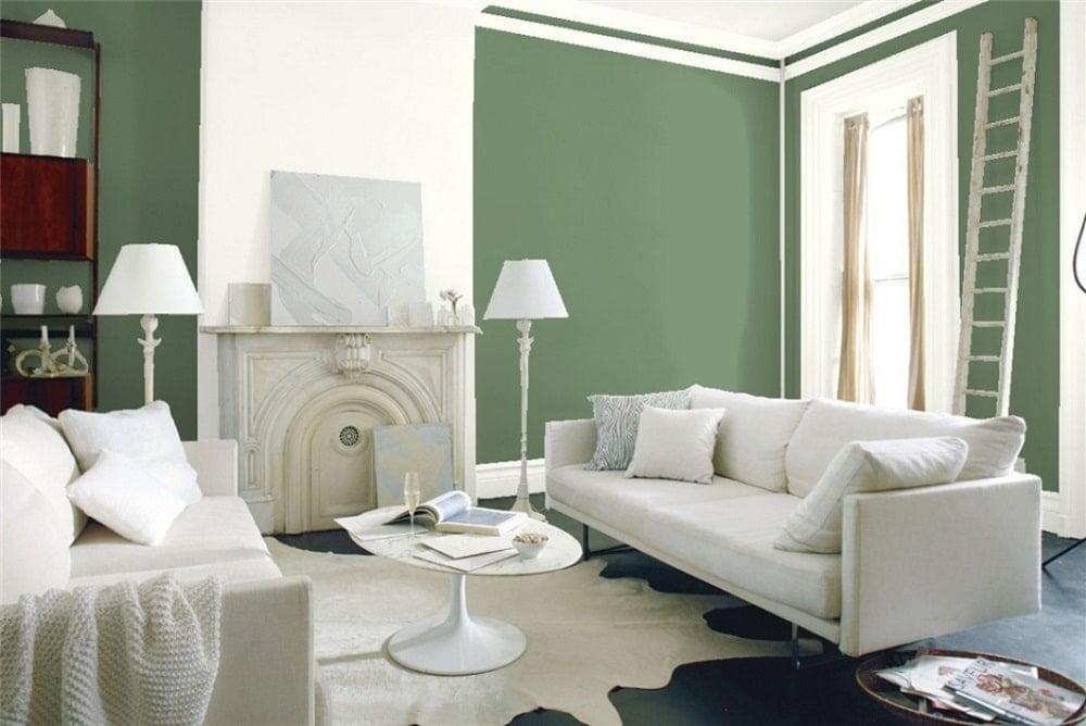 Palace Green by Benjamin Moore