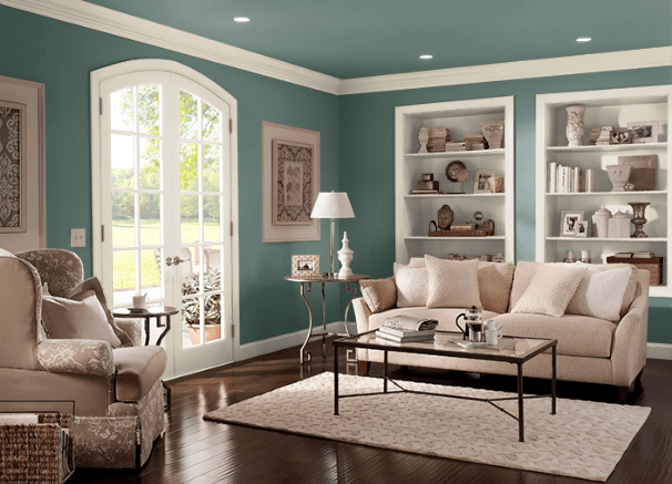 Rainforest Green by Behr