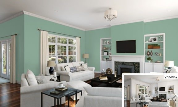 Restful Green by Sherwin-Williams