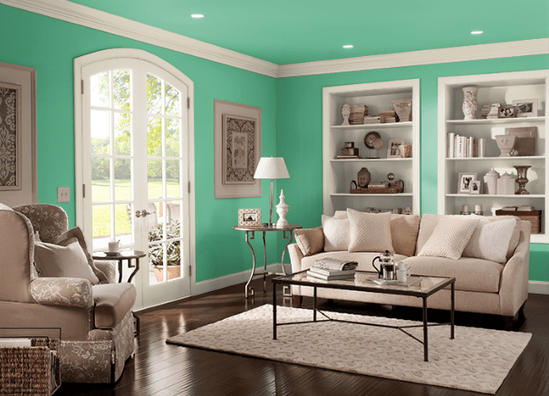 Shamrock Green by Behr