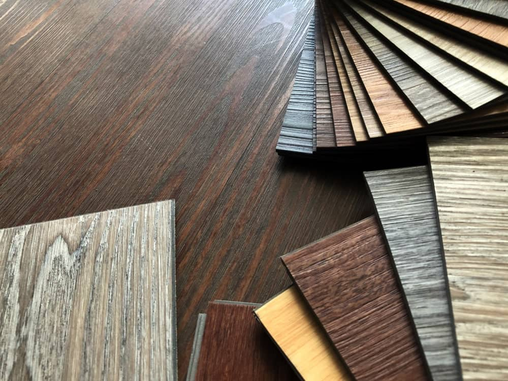 Vinyl floor tiles collection