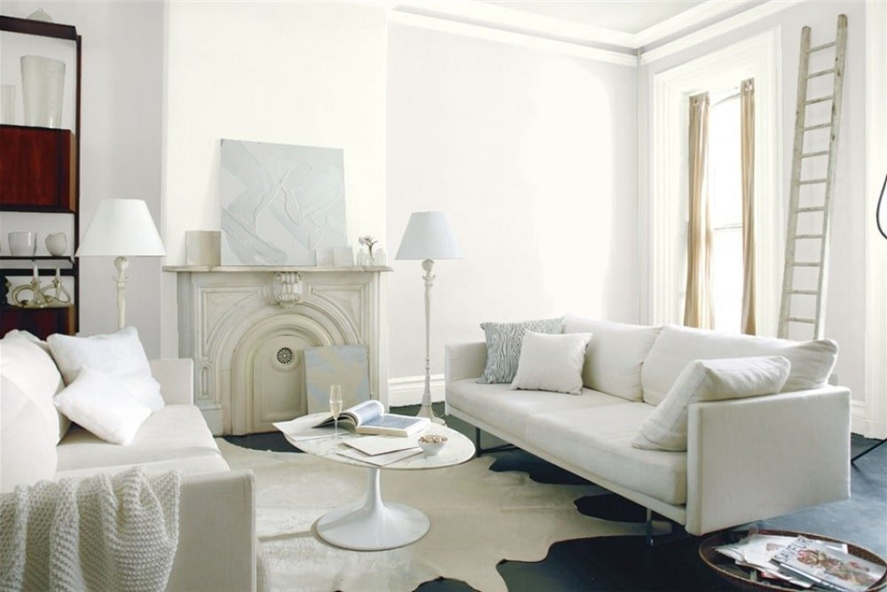 White Opulence by Benjamin Moore