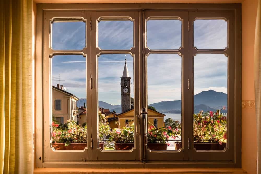 Windows with breathtaking view