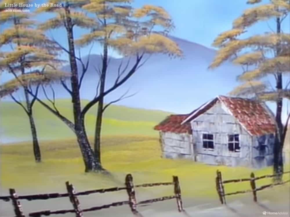 Little House by the Road by Bob Ross
