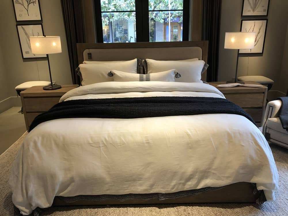 Martens Bed Frame by Restoration Hardware