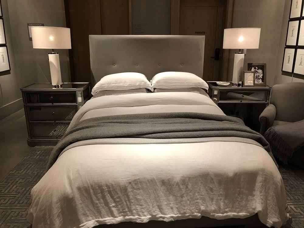 Tompkins Bed Frame by Restoration Hardware