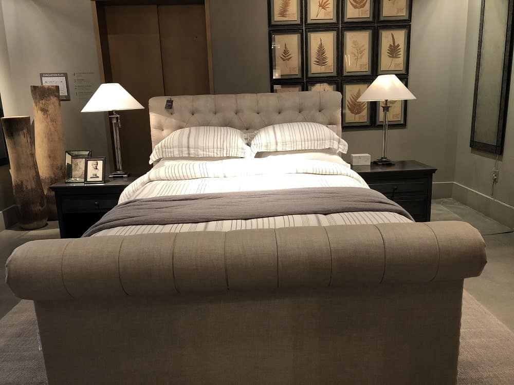 Chesterfield Bed Frame by Restoration Hardware