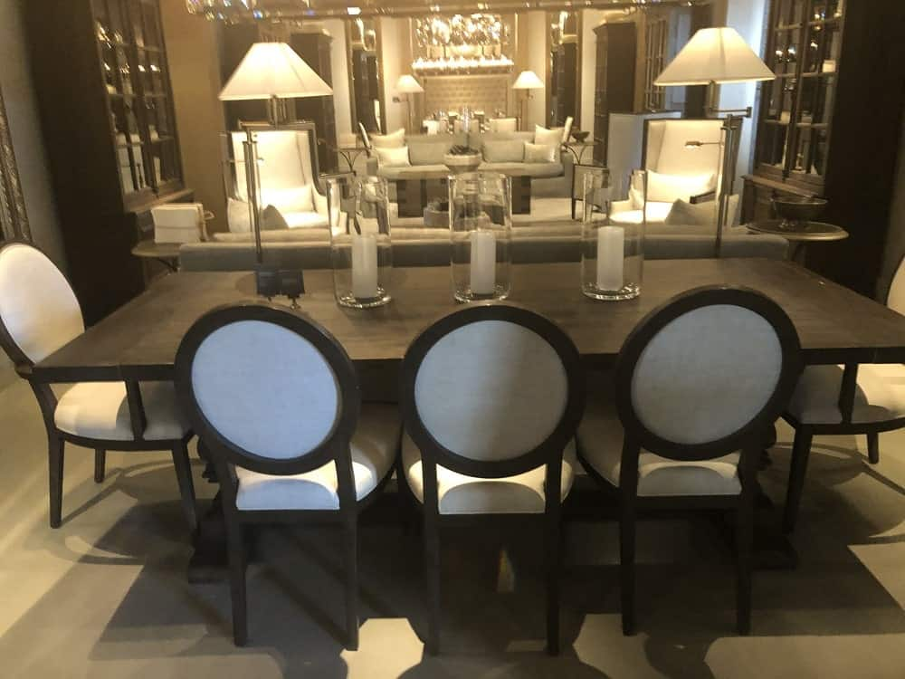 Salvaged Wood Dining Table by Restoration Hardware