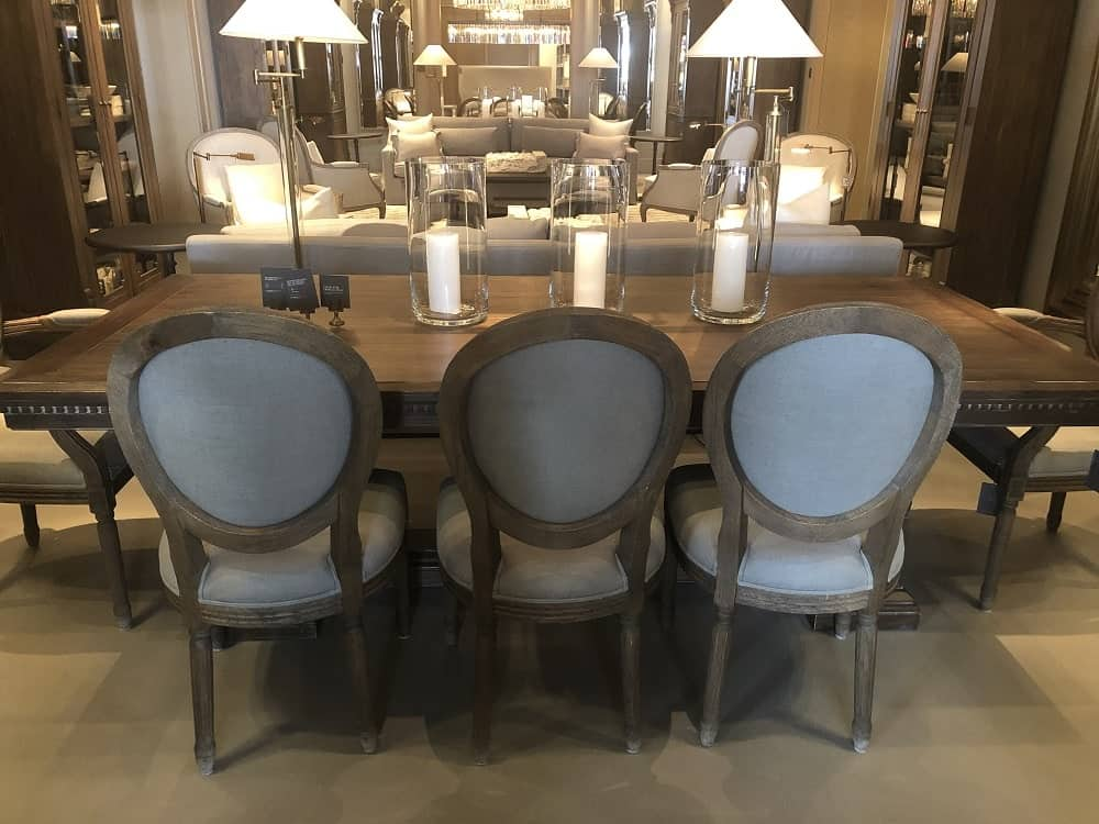 St. James Dining Table by Restoration Hardware