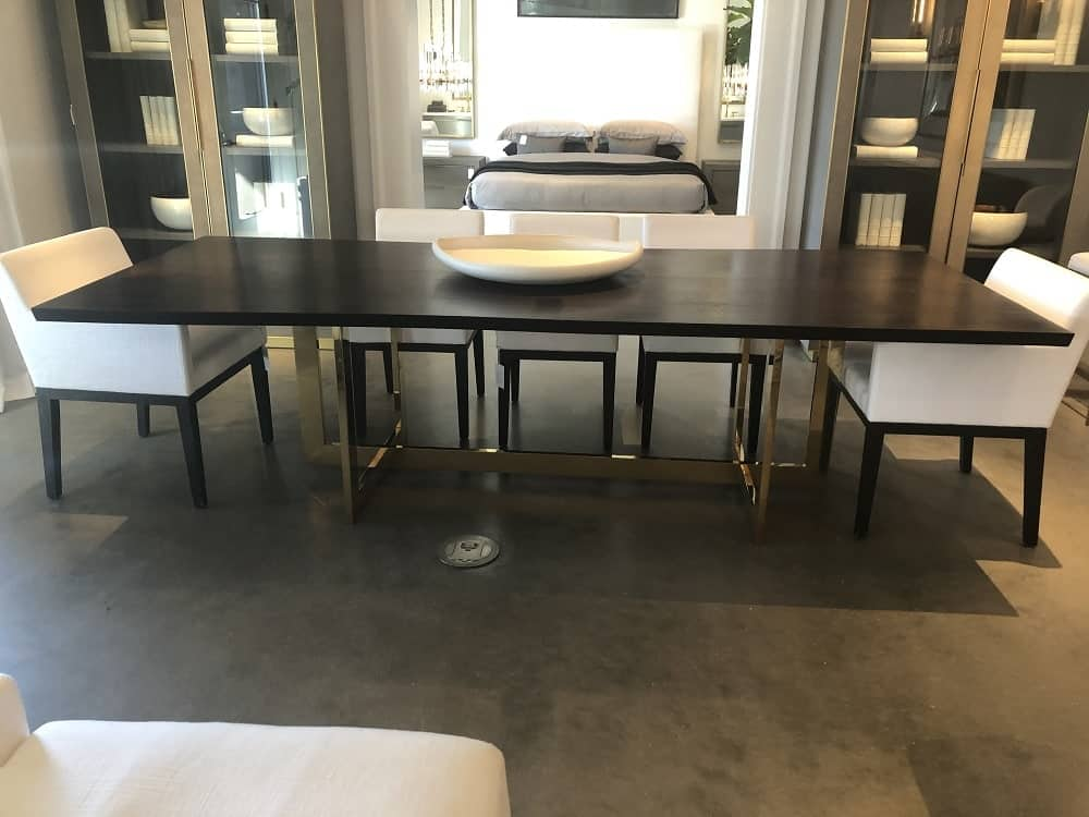 Linear Dining Table by Restoration Hardware