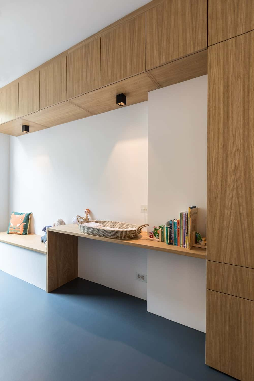 Nursery area in the Frans Halsstraat designed by Cantero Architecture.